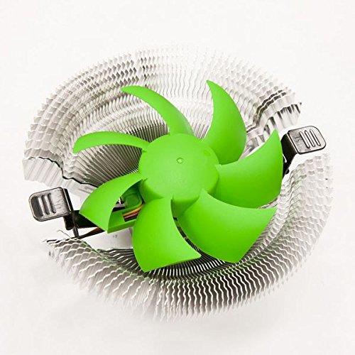 SilenX EFZ-100HA2 Procesador Enfriador - Ventilador de PC (Procesador, Enfriador, LGA 1155 (Socket H2), LGA 1156 (Socket H), LGA 775 (Socket T), Socket 754, Socket 939, Socket AM2,..., 24 dB, socket 754,939,940, AM2, AM2+, AM3, lga775, lga1155/1156, Verde)