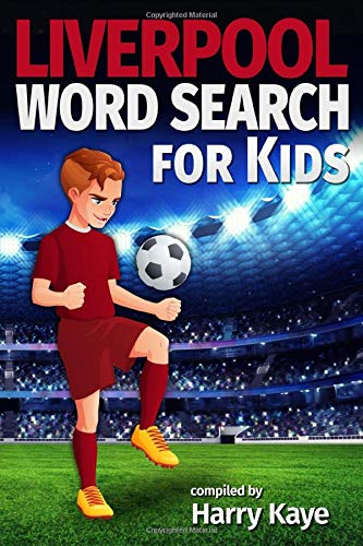 Liverpool Word Search for Kids