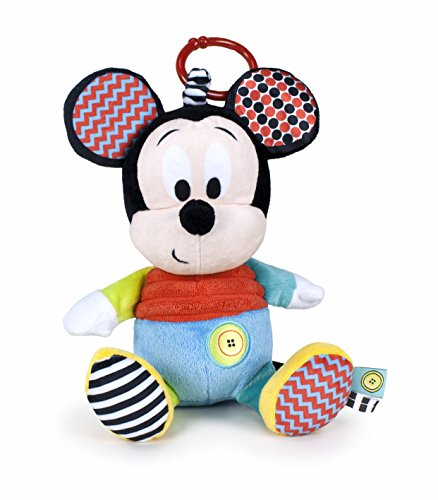 Famosa- Peluche Colgante Disney Baby Mickey, 25 cm (760016185)