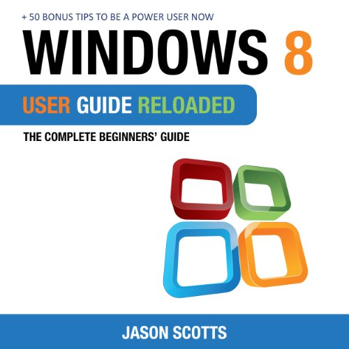 Windows 8 User Guide Reloaded audiobook cover art