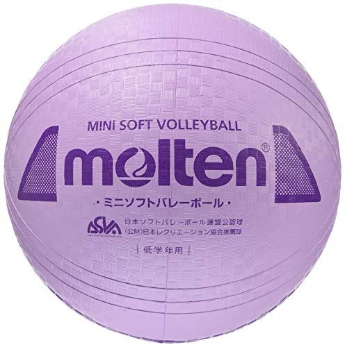 ミニソフトバレーボール パープル 1球 MT S2Y1200V モルテン