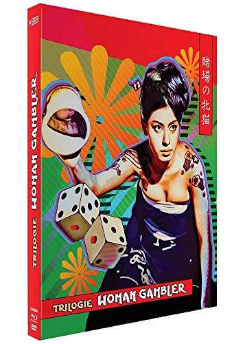 Coffret Cat Gabler-Revenge of The Woman Gambler [Édition Collector Blu-Ray + DVD]