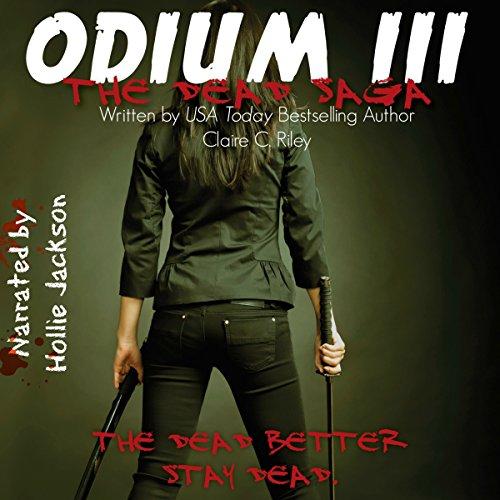Odium III audiobook cover art