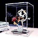 Caja de almacenamiento de exhibición de acrílico transparente Caja Perspex para kit de garaje Muñeca Modelo Coches Figuras Coleccionables (LxWxH), hecho a medida
