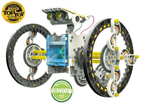 ROLL-E Der Solar Roboter, - 14 Verschiedene Modelle, Lehrmittel - Bausatz mit Deutscher Bedienungsanleitung