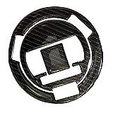 QOHFLD Motocicleta 3D + Fibra de Carbono Tanque de Gas Tapa de Combustible Cubierta Protector Almohadilla Pegatina, para BMW Serie Todos los Años