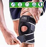 TECH THERAPEUTICS Rodillera Ortopedica 2020 Rodilleras Deportivas |Soporta, Estabiliza Y Refuerza Tus Rodillas |Protege Tus Músculos | Después De La Lesión O Operación Rodilleras Menisco y Ligamento