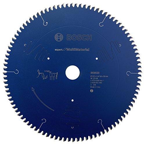 Bosch 2 608 642 495 - Hoja de sierra circular Expert for Multi Material (300 x 30 x 2,4 mm, 96)