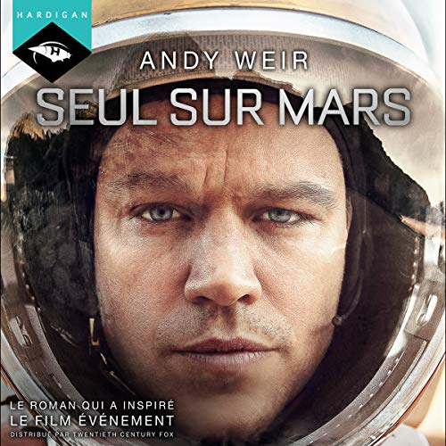Seul sur Mars audiobook cover art