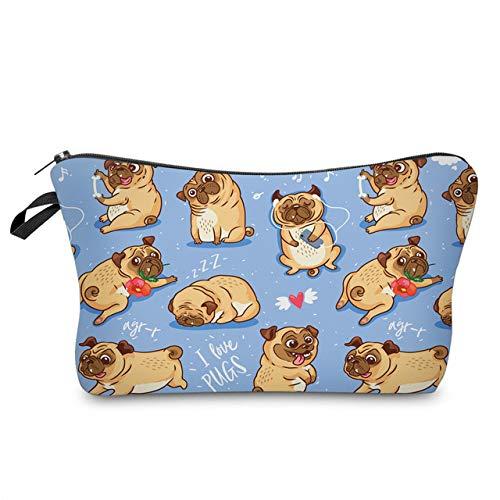 Sloth Cosmetic Bag Waterproof Printing Swanky Turtle Leaf Toilet Bag Custom Style for Travel 51491