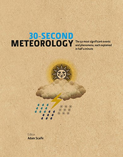 30-Second Meteorology: The 50 Most Significant Events and Phenomena, each explained in Half a Minute (30 Second) (English Edition)
