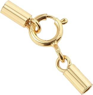 SUPVOX 20pcs anillos en forma de d ganchos de seguridad giratorios accesorios de bolsa de anillo en d de metal para diy craft perro cord/ón costura joyer/ía hallazgos bronce
