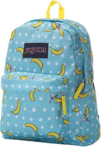 Jansport Superbreak Rucksack, Blau Topas Oh Banane, eine Größe