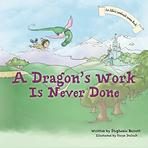 A Dragon's Work Is Never Done audiobook cover art