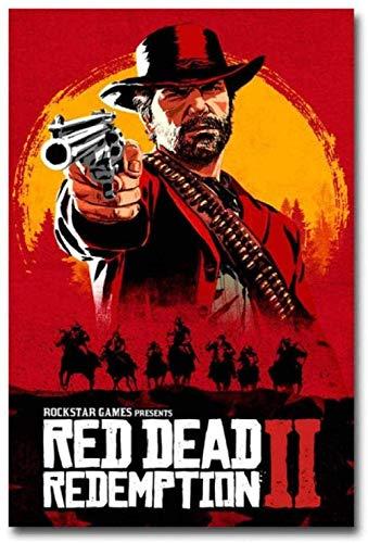 QQWDFQ Puzzle Rompecabezas Película Red Dead Redemption Rompecabezas Creativo Rompecabezas De Madera 1000 Piezas para Decoración Moderna del Hogar