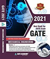 GATE Books: GATE Academy 2021 Mechanical Engineering Previous Year Solved Papers Vol 1