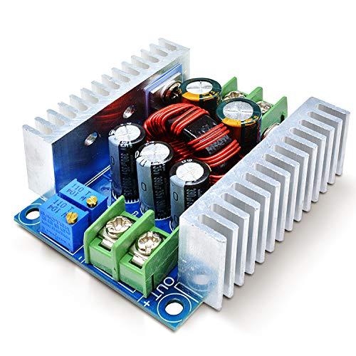 Aideepen DC-DC降圧コンバータモジュール降圧レギュレータ6-40V ~ 1.2-36V 出力電圧調整可能なコンバーター電源モジュール300W 20A CC CV降圧型電源安定器12V 24V 36V から 3.3V 5V 9V定電流定電圧トランス