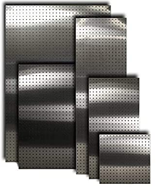 """Stainless Supply Stainless Steel Pegboard (Various Sizes Available; See Drop Down Menu) - Selected Size: (16""""x16"""" - 430)"""
