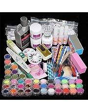 Nagelkunstgereedschap, nagelbenodigdheden Gereedschapssets Nagelstartset Nagelkunstaccessoires DIY-manicure voor schoonheidssalon, thuis