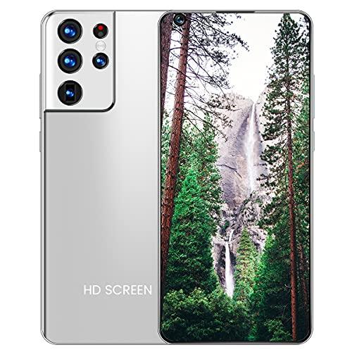 GHHYS Smartphone, teléfono móvil de 7,3 Pulgadas versión Internacional 12 + 512 GB, Doble Tarjeta de Doble Modo de Espera, batería de 5200 mAh, teléfonos móviles adecuados para Personas Mayores