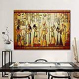 fancjj 1000 Piezas puzzle/50x75cm/Faraón Egipcio Vintage/Juego Educativo Reliever difícil desafío Rompecabezas para niños DIY decoración del hogar