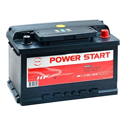 NX - Batería para Coche Power Start 65-580L/0 12V 65Ah