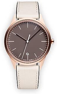 Uniform Wares Women's C36_SRG_W1_CGR_MIS_1816S_01 Year Round Analog Quartz Off-White Watch