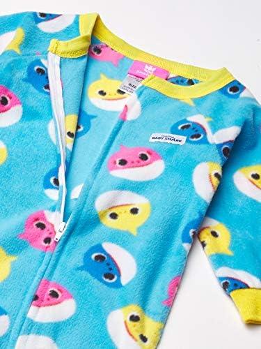 Baby Shark Baby Boys Footed Blanket Sleeper