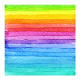 Bgraamiens Puzzle-Mille Crepe Cake-1000 Pieces Rainbow Color Jigsaw Puzzles
