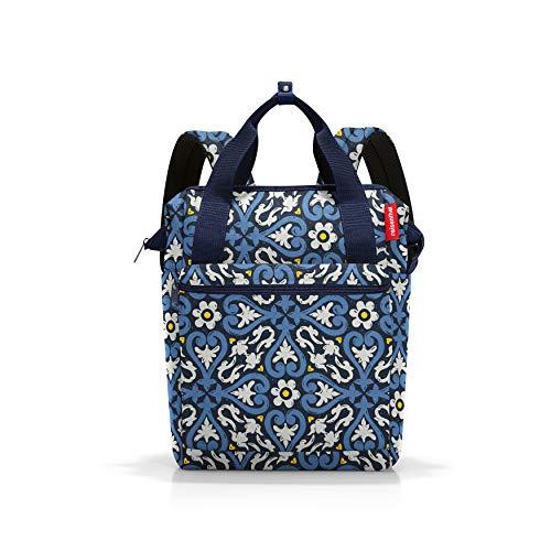 reisenthel allrounder R Rucksack Tasche 25 x 40 x 17 cm / 12 l / Polyester floral 1