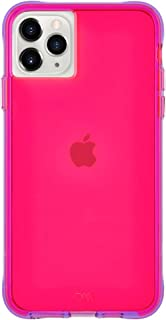 Case-Mate - iPhone 11 Pro Max Case - Tough NEON - 6.5 - Pink/Purple Neon