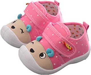 b6b44b87634b3 Chaussons Bebe Filles Walaka Enfants Chaussures Foot Cartoon Anti-DéRapant  Chaussures Semelle Souple Squeaky Baskets