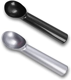 HansGo Ice Cream Scoop, 2PCS Nonstick Anti-Freeze Ice Cream Scooper One Piece Aluminum Design Dishwasher Safe