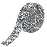 HQdeal Cinta de Diamantes de Imitación, Cinta De...