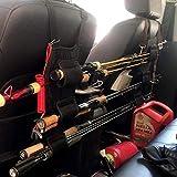AKT 1 Par Soporte de Caña de Pescar para Vehículos Portacañas de Pescar para el Asiento Trasero del Vehículo Herramienta de Aparejos de Soporte de Caña de Pescar para Coche