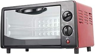 Mini Horno eléctrico, Microondas Manual de 20 litros con doble Perillas, 800W multifuncional Hornear Estufa de funciones de cocción y la parrilla, perfecto para la cocina casera