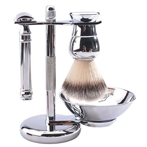 CSB 5 Piece Shaving Gift Set - Includes Synthetic Hair...