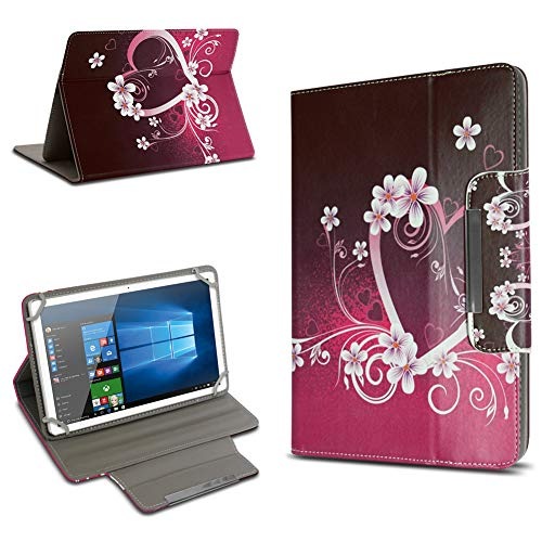 UC-Express XIDO Z90 9.6 Zoll Tablet Schutz Hülle Tasche Universal mit Standfunktion hochwertiges Kunstleder Cover Universal Case, Motiv:Motiv 1