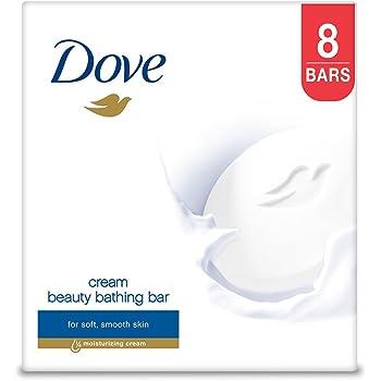 Dove Cream Beauty Bathing Bar, 100g (Pack of 8)