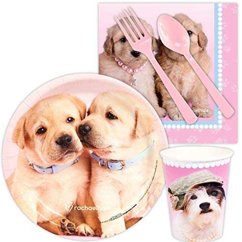 BirthdayExpress Rachael Hale Glamour Dogs Party Supplies - Snack Party Pack