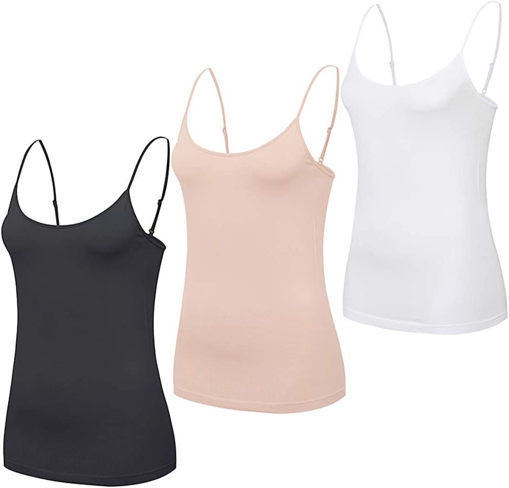 Comfyin Seamless Camisole for Weekly update Women Strap Spaghetti T Limited time trial price Adjustable