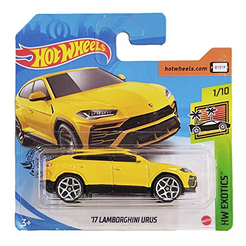 Hot Wheels \'17 Lamborghini Urus HW Exotics 1/10 (213/250) 2020