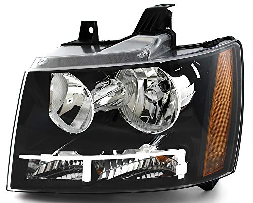 JP Auto Headlight Compatible With Chevrolet Chevy Tahoe Hybrid Suburban Avalanche 2007 2008 2009 2010 2011 Driver Left Side Headlamp