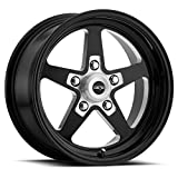 Vision 571 Sport Star II Gloss Black/Milled Wheel Finish (15 x 8. inches /5 x 114 mm, 0 mm Offset)