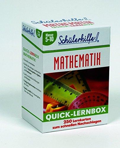 Quick-Lernbox Mathematik - Klasse 5-10