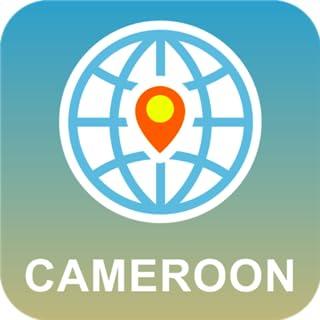 Camerún Mapa Desconectado