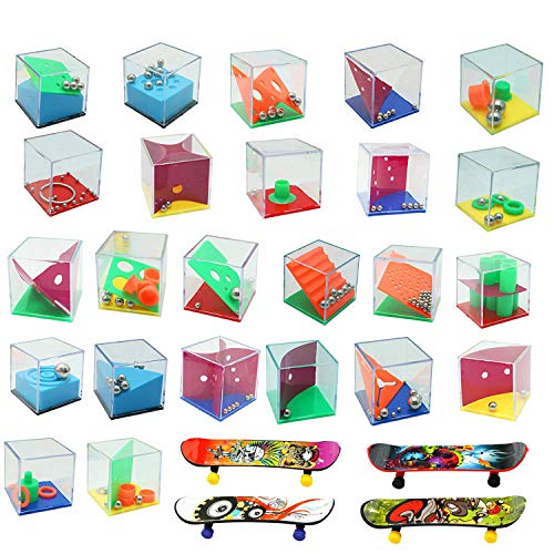Harxin 28 Mini Juegos Rompecabezas, Set de 24 Puzzles, 4...