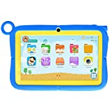7' Kids Tablet by Azpen Android 10 OS Games and e-Learning apps Dual Cameras Protective Case with...