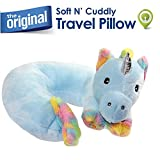 Best Kids Travel Pillows - Cloudz Plush Animal Pillows - Unicorn Review