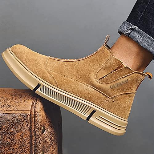 Zapatos de Trabajo 2021 Actualizar Zapatos de Seguridad de Gamuza Cap Toe Trabajo Ejercicio Zapatos INDUSTRIALES Mujeres Soldador Soldadura Botas DE TOKLE LIGHTHE (Color : A, Size : 39)